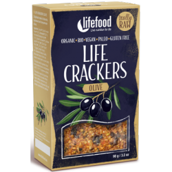 Crackers crus olives 90g